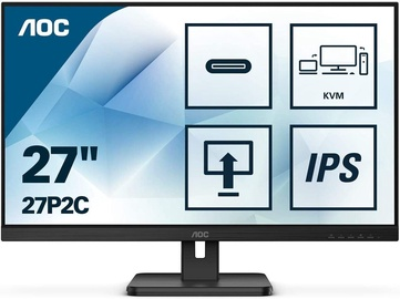 "Monitorius AOC 27P2C, 27"", 4 ms"