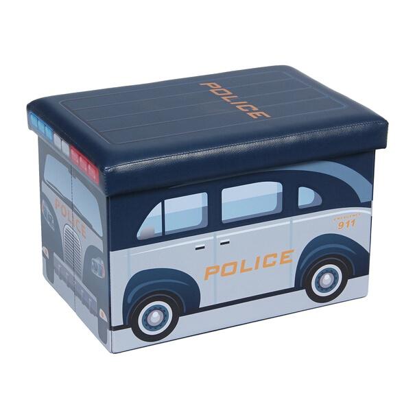 Пуф XYZ160112BE Police, 48 x 31.5 x 32 см
