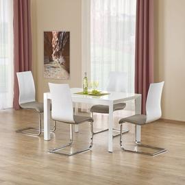 Pusdienu galds Halmar Stanford White, 1300 - 2100x800x760 mm