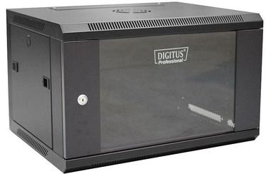 "Digitus Wallmount Cabinet 19"" 6U/450mm Black"