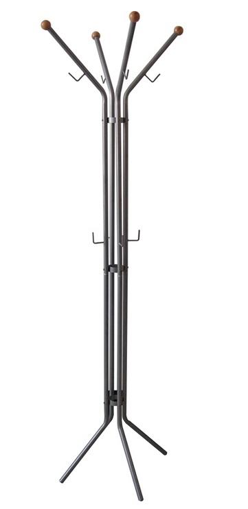 Вешалка для одежды Futura QH-N640, серый