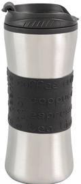 Curver Travel Mug Savanna 450ml Black/Silver