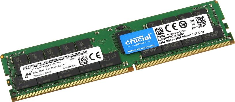 Crucial 32GB 2666MHz CL19 DDR4 ECC CT32G4RFD4266