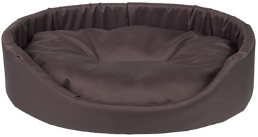 Amiplay Basic Oval Bedding XXL 86x76x17.5cm Brown