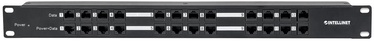Intellinet PoE Patch Panel 1U 19'' 120W 12-Port 720342