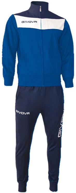 Givova Campo Tracksuit Blue L