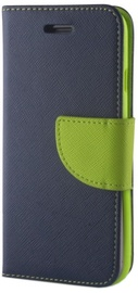 Mocco Fancy Book Case For Huawei P20 Blue/Green