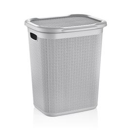 Ucsan Plastik M-079 Laundry Basket 50l Gray