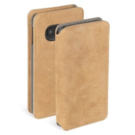 Krusell Broby Slim Wallet Case For Samsung Galaxy S10e Brown
