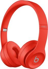 Ausinės Beats Solo 3 Wireless Brick Red, belaidės