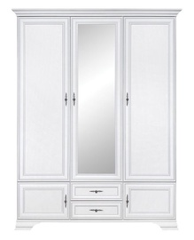 Black Red White Idento Wardrobe 159x216cm White