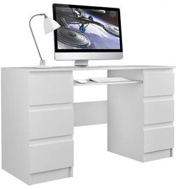 Top E Shop Kuba Desk White Matt