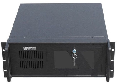 "Gembird 19"" Rack-mount ATX 4U Black 19CC-4U-001"