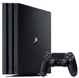 Sony PlayStation 4 (PS4) Pro 1TB Black White Box
