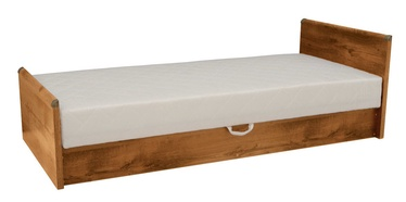 Black Red White Indiana Bed 90 Sutter Oak