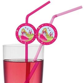 Susy Card Cocktail Straws Disney Princess 24cm 10pcs