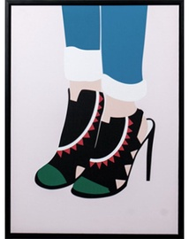 Mondex Heels 2 Painting 45x60x4cm