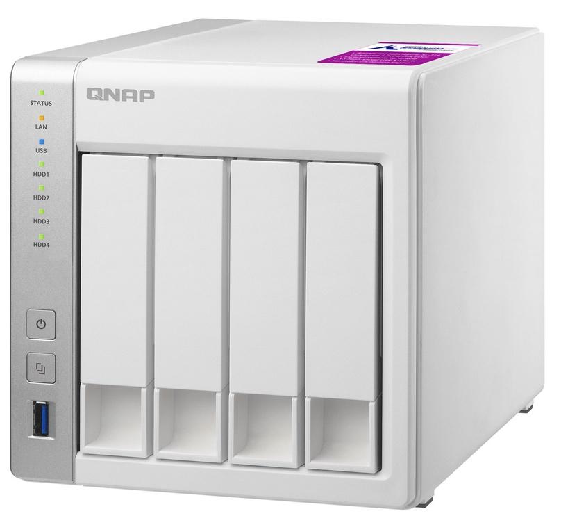 QNAP Systems TS-431P2-1G 4-Bay NAS 16TB