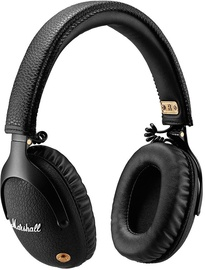 Ausinės Marshall Monitor Bluetooth Over-Ear Headphones Black