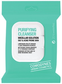 Comodynes Purifying Cleanser Oily and Acne Prone Skin 20Wipes