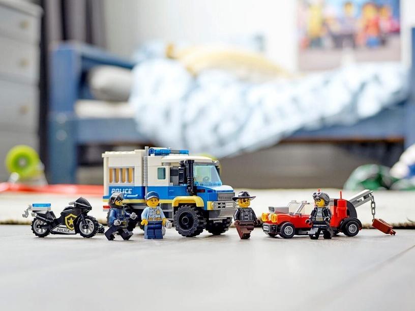 Konstruktorius LEGO City Police kalinių transporteris 60276