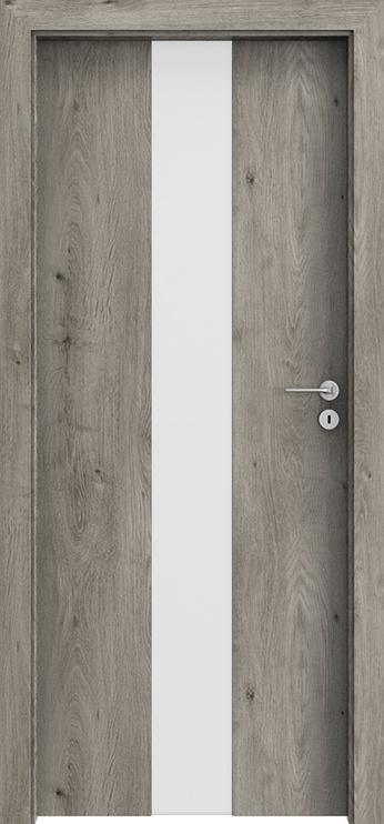 """Durų varčia """"Portafocus 2"""" sibiro ąžuolo 844x2030x40 kairinė"""