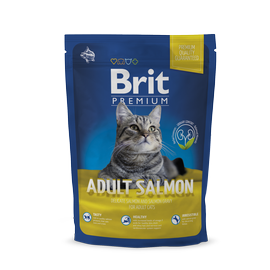 Kuivtoit kassidele Brit Premium Cat Adult Salmon, 300 g