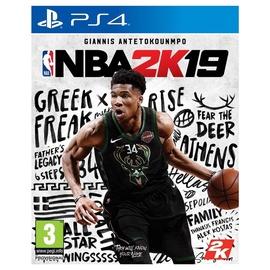 Kompiuterinis žaidimas NBA 2K19, PS4