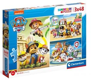 Clementoni Puzzle SuperColor Paw Patrol 3x48pcs 25262