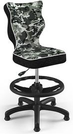 Entelo Petit Black HC+F Size 3 Children Chair ST33 Black/Camo