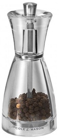 Cole and Mason Precision Pina Acrylic Pepper Mill 125mm