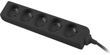 Lanberg Power Strip 1.5m Black PS0-05E-0150-BK
