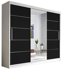 Idzczak Meble Wardrobe Alba White/Black