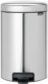 Brabantia NewIcon 12l Fingerprint Proof Matt Steel