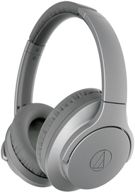 Audio-Technica Wireless Noise Cancelling Headphones Gray