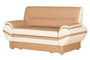 Bodzio Livonia Sofa 2 Eco Leather Beige/Cream