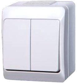 Jungiklis Elektro-Plast Hermes 2 1002-00, baltas