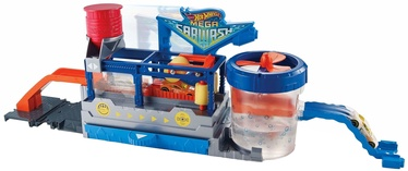 Mattel Hot Wheels City Mega Car Wash Connectable Play Set FTB66