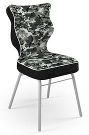 Детский стул Entelo Solo ST33 Size 6, черный/зеленый/серый, 415 мм x 910 мм