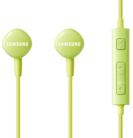 Ausinės Samsung HS130 Wired Headset w/ Mic Green