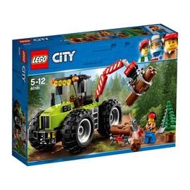 Konstruktorius LEGO City, Miško traktorius 60181