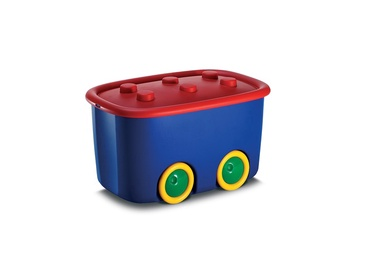 KIS Kid Toys Storage Box 46l Blue Red