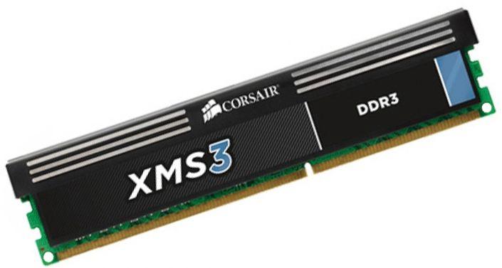Operatyvioji atmintis (RAM) Corsair XMS3 CMX4GX3M1A1600C11 DDR3 (RAM) 4 GB