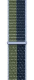 Ремешки Apple 45mm Abyss Blue/Moss Green Sport Loop - Regular, синий/зеленый