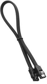 Juhe Cablemod ModMesh SATA 3 Cable, must, 0.3 m