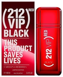 Carolina Herrera 212 Red VIP Black Limited Edition 100ml EDP