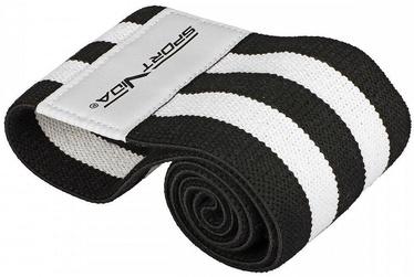 Slodzes gumija SportVida Fitness & Crossfit Rubber Hip Band 40x7.6cm Black