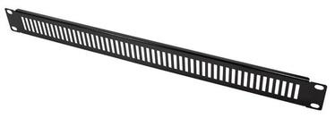 LogiLink Ventilated Panel 19'' 1U Black
