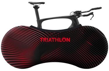 Velosock Triathlon Series Bike Cover Neon Red