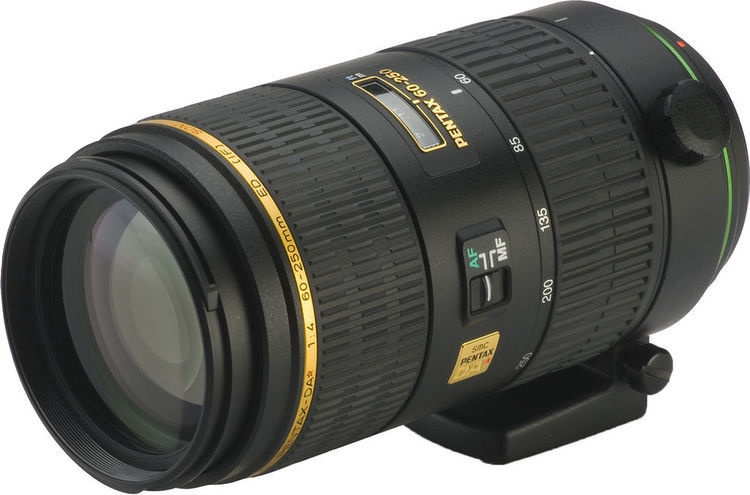 Objektyvas Pentax DA 60-250mm f/4.0 ED (IF) SDM